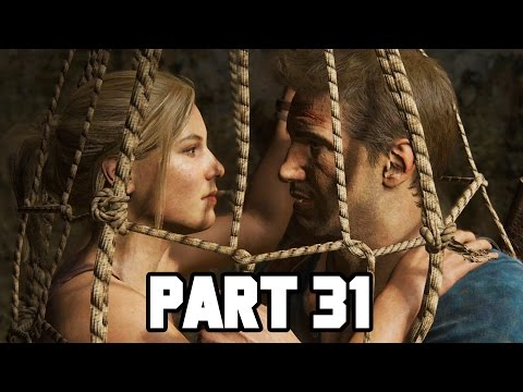 BOOBY TRAP ALLEY!! Uncharted 4 Gameplay Walkthrough Part 31 - Chapter 19 (PS4 1080p HD)