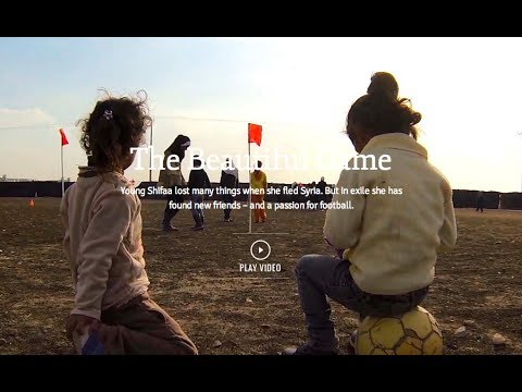 Syrian Refugee Girls' Football Team