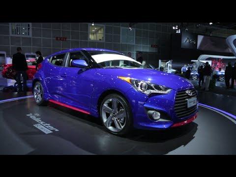 2014 Hyundai Veloster Turbo R Spec - 2013 L.A. Auto Show