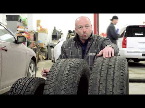 Understanding Tire Tread Depth and Types of Tires