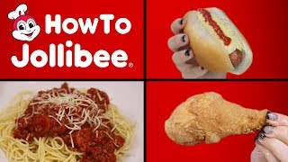 HOW TO MAKE JOLLIBEE - VERSUS 🍗 🍝