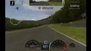 Gran Turismo 4 Nurburgring Hot Lap BMW M3 GTR Race Car 6