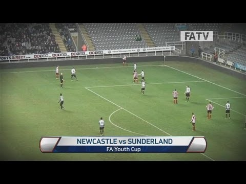 Newcastle United vs Sunderland 4-0, FA Youth Cup Fourth Round