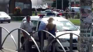 Poliția de la București amendează șoferi de taxi