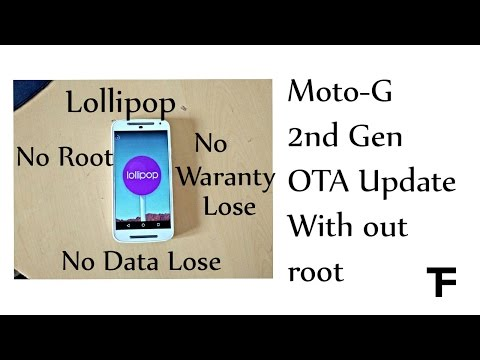 How To Get OTA Update Manually on Your Moto G 2nd Gen XT1068  Without Root