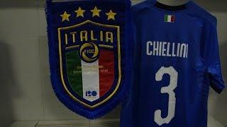 Italia-Ucraina: lo spogliatoio degli Azzurri