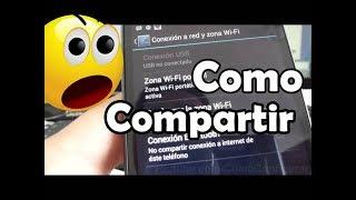 Como Configurar Compartir Internet En Android Motorola