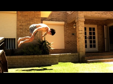 How to Barani (Front Flip 180) - Tutorial