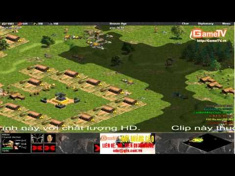 AOE Huyền Thoại Chế vs Game Thái Nguyên 10/ 8 / 2013 c2 tran 2