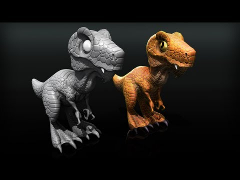 3D-Coat Tutorial: Retopologizing a High-Resolution Sculpt for Games in 3D-Coat