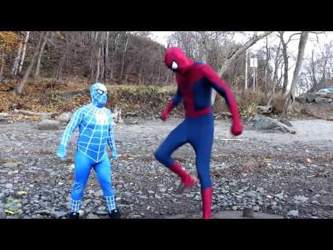 Biệt Đội Siêu Nhân, Video hài hước Người Nhện Xanh và Người Nhện Đỏ, Đời Sống thực của Siêu Nhân, Si