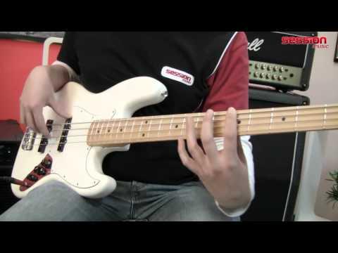 Fender Standard Jazz Bass MN AW