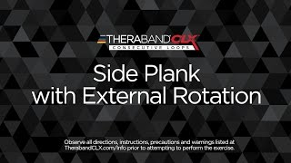 Side Plank with External Rotation