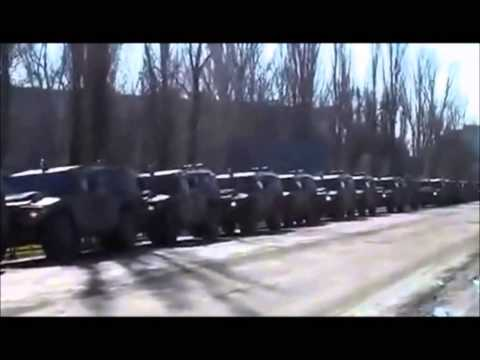 Russian Army in Crimea and Ukraine with Russian Army Songs