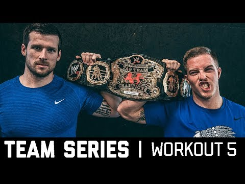 2018 CrossFit Team Series Ohlsen + Mayer | Workout 5