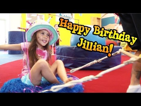 Jillian's 5th Birthday Party at MY GYM!
