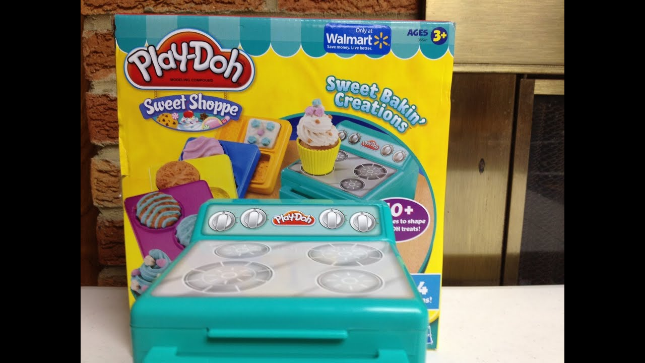 Baking Play-Doh Sweet Creations