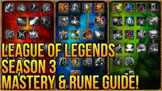 League Of Legends Season 3 Mastery And Rune Page Guide