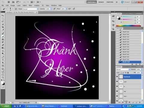 Dạy làm avatar chữ nghệ thuật by Hyper