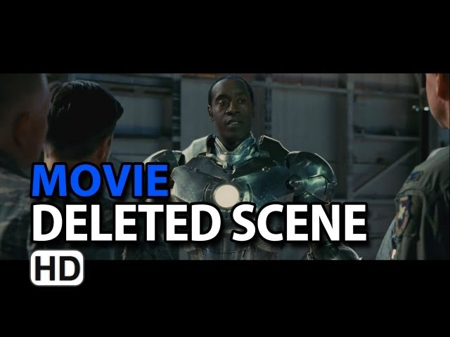 "Iron Man 2 (2010) Deleted Scene ""Rhodey in Mark 2"""