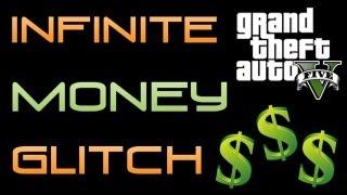 """GTA 5 : INFINITE MONEY Glitch """"FREE MONEY"""" GTA V Money"""