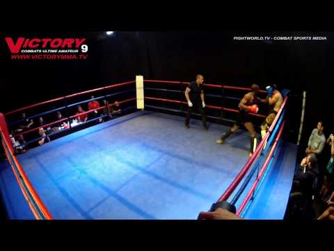 BlacknameWhyte 2nd Amateur MMA fight