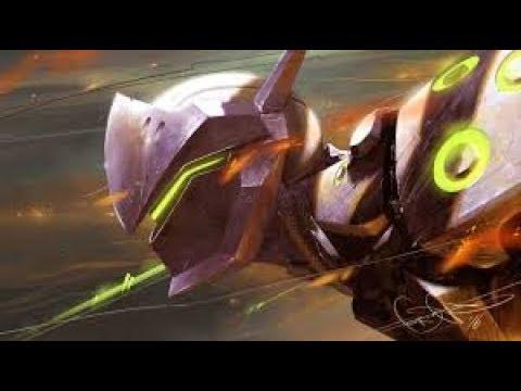 Overwatch gameplay fr ps4 genji
