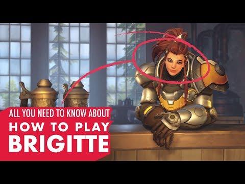 How To Play Brigitte! (Overwatch New Hero Guide)