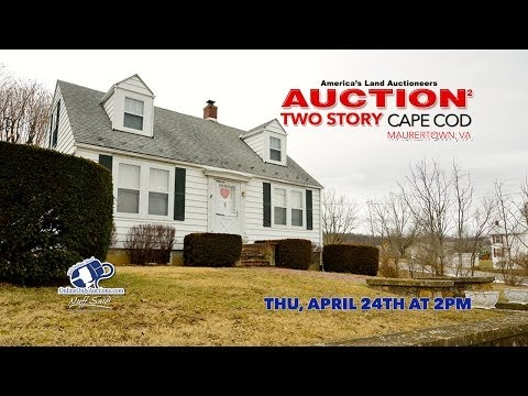 Real Estate Auction | Cape Cod | 3 Bdrm 1.5 Baths | 24649 Old Valley P