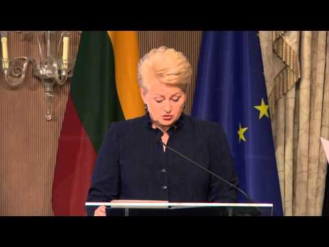 EUSBSR 4th Annual Forum - Welcome Address & Keynote Speeches - Part 1 - H.E. Dalia Grybauskaitė