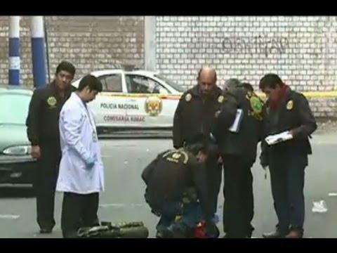 Rímac: Hallan metralletas y granadas en hostal