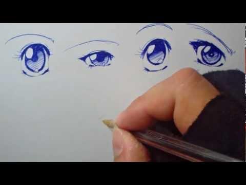 Dibujando Manga con Shukei #1: Ojos