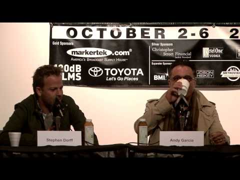 Actor's Panel at 2013 WFF Martha Frankel Interviews Andy Garcia and Stephen Dorff, Part 1