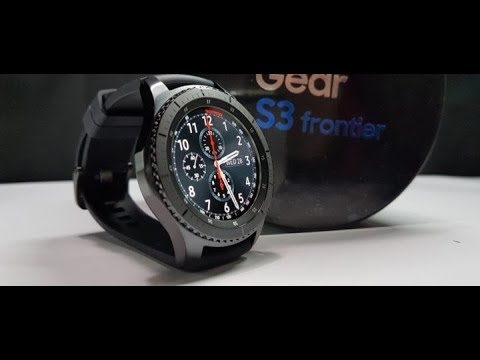 Samsung Gear S3 Frontier Review Video
