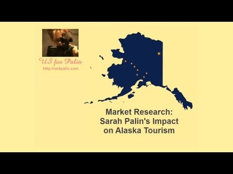 US for Palin Market Research: Sarah Palin's Impact on AK Tourism