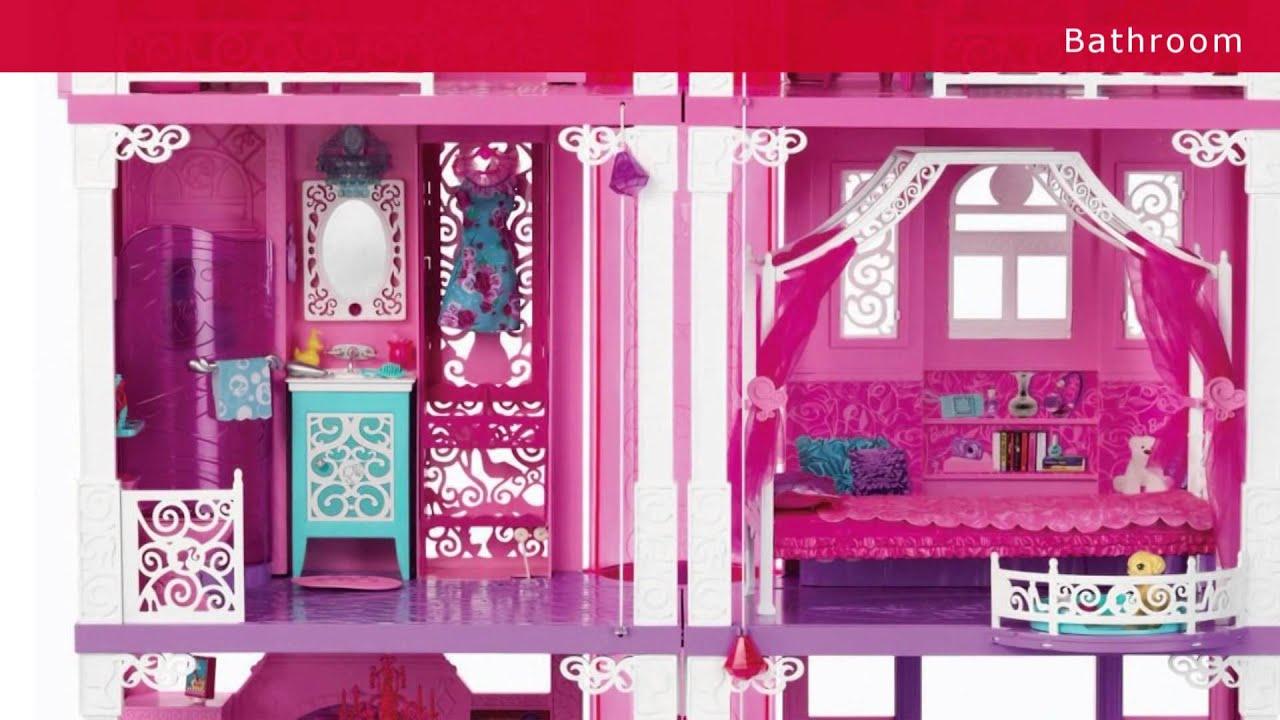 youtube video barbie dream house