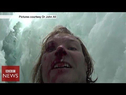 image Il se filme après une chute de 20  mètres