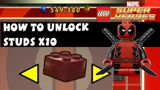 Lego Marvel Super Heroes How To Unlock Studs X10