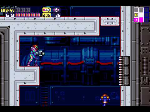 Metroid Fusion - Metroid Fusion part 21 i knew this was a bad idea - User video