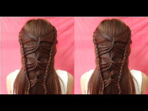 Hairstyles - Cách Tết Tóc Kiểu Cánh Bướm Đơn Giản