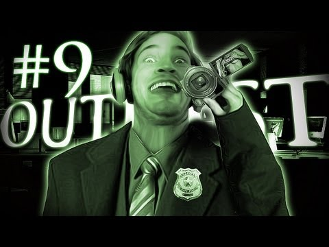 PERVERTED JOURNALIST! - Outlast Gameplay Walkthrough Playthrough - Part 9