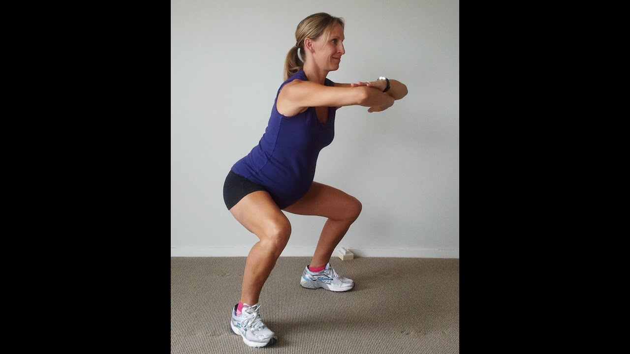 Pregnancy Exercise: Squats- How to Squat During Pregnancy ...