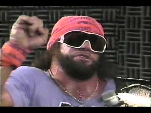 Jesse The Body Ventura interviews Macho Man Randy Savage 1989