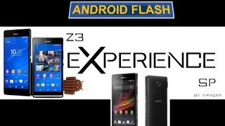 ROM Z3 XPERIENCE 4.4.4 STOCK XPERIA SP
