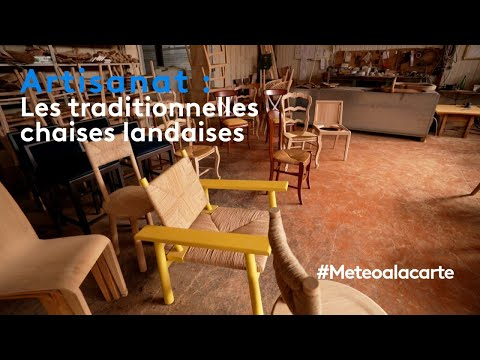 Artisanat : les traditionnelles chaises landaises