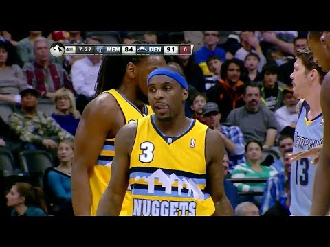 Ty Lawson 18 Points 12 Assists Game Highlights - Grizzlies vs Nuggets (2014.01.03)