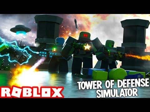 Roblox TOWER DEFENSE SIMULATOR!
