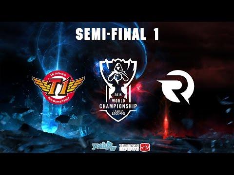 Liên Minh Huyền Thoại | 2015 World Championship | Bán Kết 1 | Origen vs SKT T1
