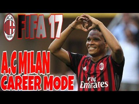 FIFA 17 AC Milan Career Mode #5 / Milan Derby !!!