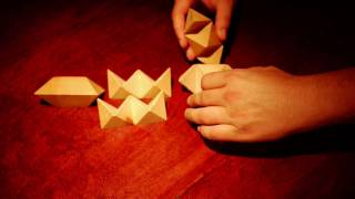 Wooden Star Puzzle Solution